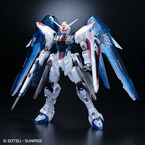 Gundam Base Tokyo begränsad MG 1  100 fridom Gundam Ver.2.0 Clear Färg modellllerler Kit