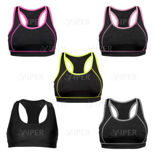 Femmes Soutien-gorge De Sport Running YOGA antichoc sans fil Crop Tops Shapewear Rembourré Soutien-gorge