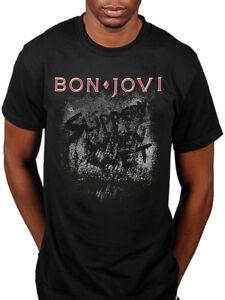 dd36601bdd2 Official Bon Jovi Slippery When Wet T-Shirt Bounce Crush Band Tour ...