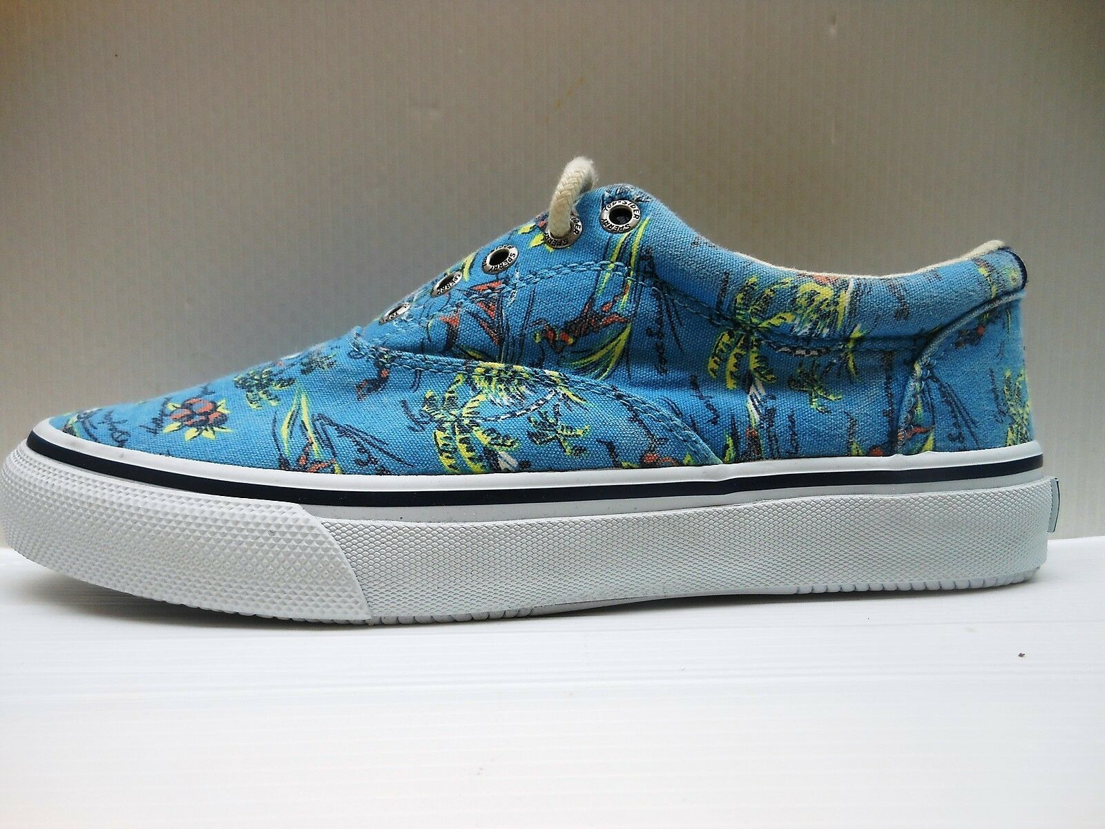 267 SPERRY TOP-SIDER SCARPA UOMO S021B STRIPER CVO HAWAIIAN BLUE STS10857