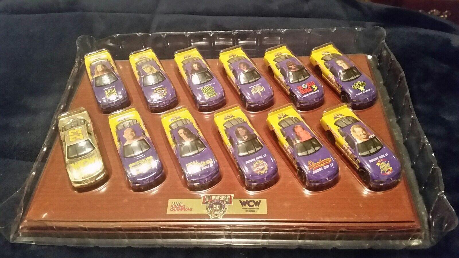 1998 Racing Champions WCW 12 12 12 Car Set 50th Anniversary Nascar 1 64 6fed09