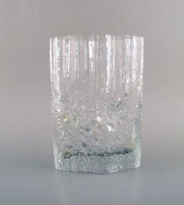 Iittala Tapio Wirkkala Art Glass Vase 1960 70 S Beautiful Finnish Design Ebay