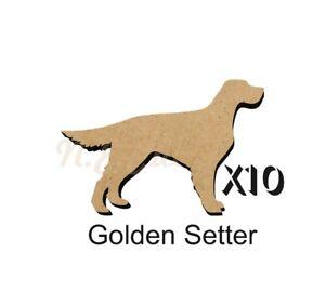 10 Golden Setter MDF découpes Porte-clés-enjoliver 5 Tailles Sans Trou dogw 135-ishing 5 SiZES FREE Hole DOGW135afficher le titre d`origine bhXyfkIo-07202724-345810928