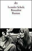 Rosenfest: Roman von Scholz, Leander   Buch   Zustand sehr gut
