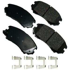 Disc Brake Pad Set-ProACT Ultra Premium Ceramic Pads Front Akebono ACT1589