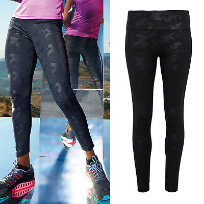 Sammlung Hier Tridri Women's Performance Full-length Camo Leggings (tr038) - Fitness Yoga Gym