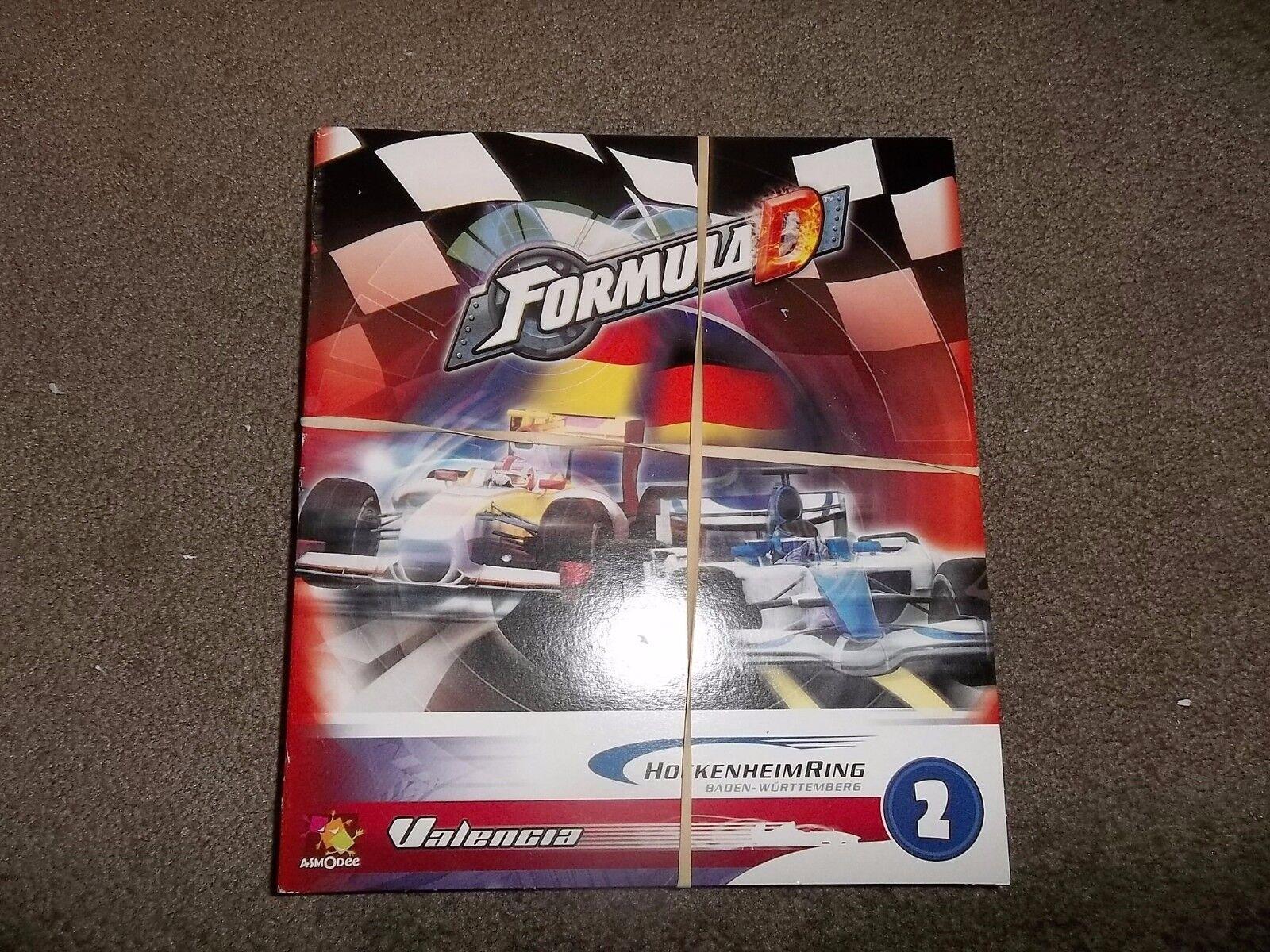 ASMODEE Fórmula D de expansión de juegos 2 Hockenheimring y Valencia