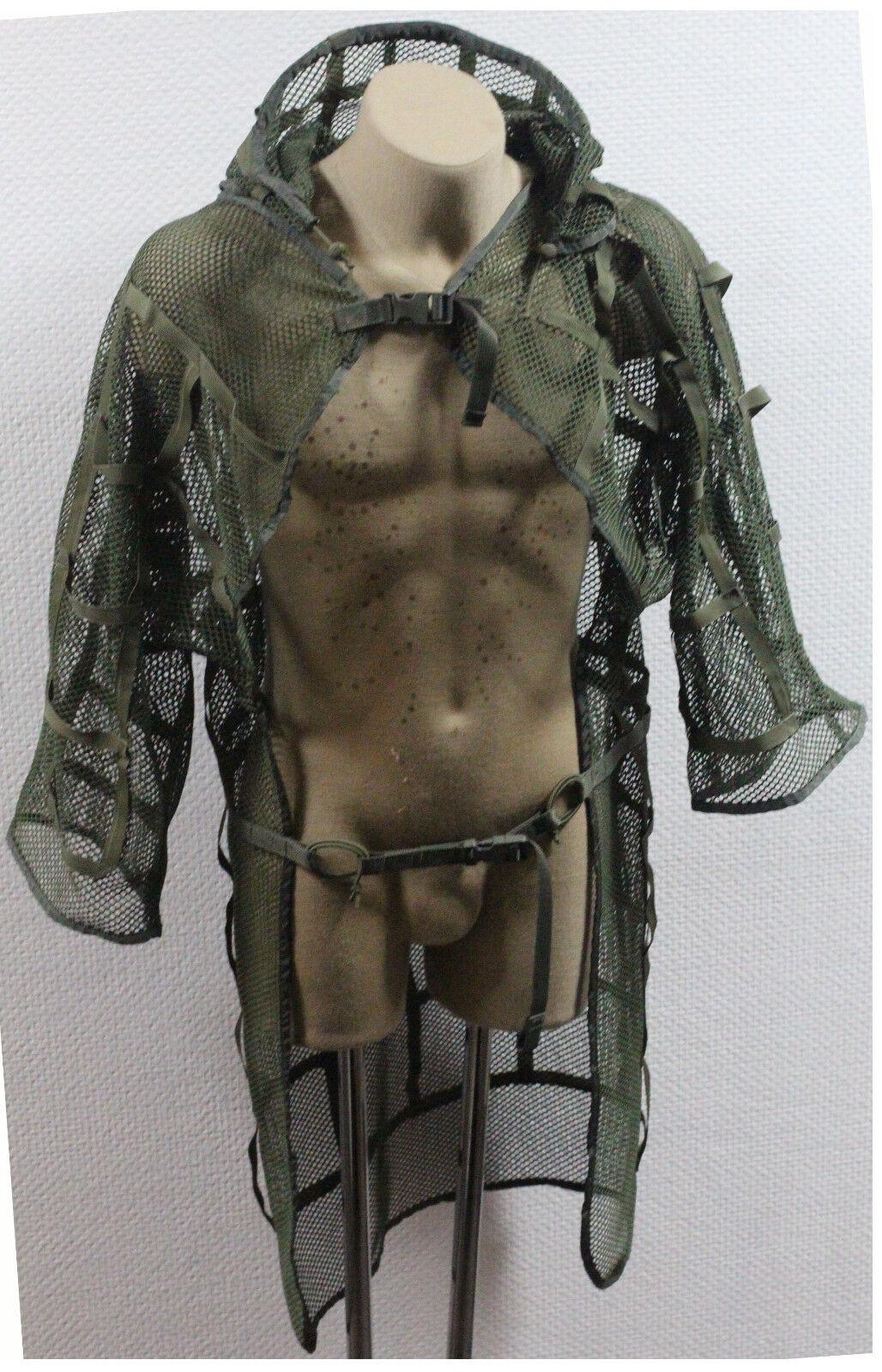 Ruso Alforjas MILSPEC Malla Disfraz Cape francotirador manto verde del OD