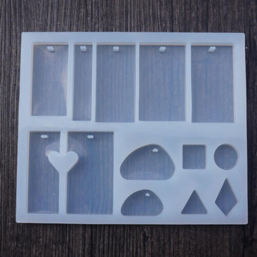 Silicone Rectangle Stone Cabochon Mold Mould Epoxy Resin Jewelry Making New.