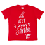 New-Kids-Christmas-Xmas-T-Shirt-Tee-Tops-100-Cotton-Boys-Girls-Gift-Red-White thumbnail 3
