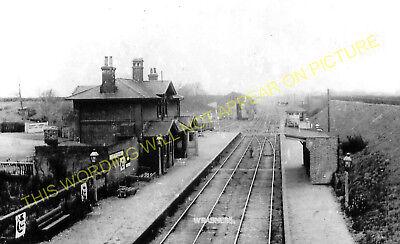 Harwich Line. Bradfield Parkeston 1 Wrabness Railway Station Photo