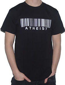 NEW-ATHEIST-BARCODE-Funny-T-Shirt-My-Cup-Of-Tee