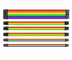 Thermaltake-AC-049-CNONAN-A1-TtMod-Sleeve-Cable-Cable-Extension-Rainbow