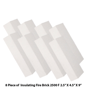 Insulating-Firebrick-9x4-5x2-5-IFB-2500F-Set-of-8-Fire-Brick