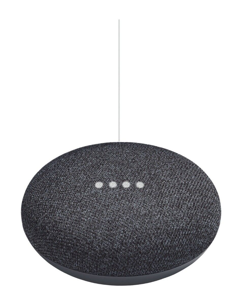 Google Home Mini Home Smart Speaker with Google Assistant, Charcoal (GA00216-US)