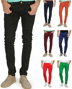 Homme Soul Extensible Serré Coupe Pantalon Slim Conique Jeans Star 5qOxpqwSF