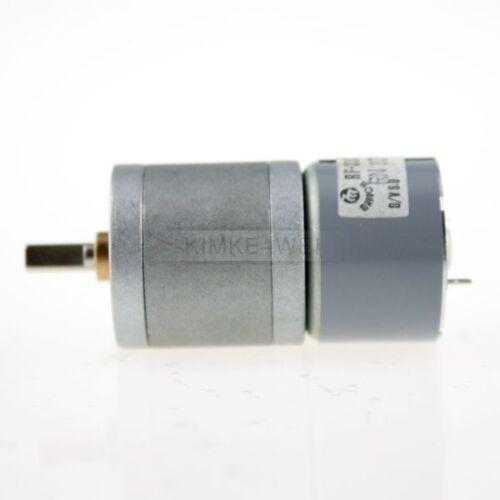 25mm 6V 180U//min Getriebemotor Motor für Modellbau Neu
