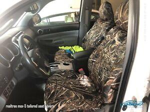 Realtree-Max-5-Camo-Custom-Tailored-Neosupreme-Seat-Covers-for-Honda-Ridgeline