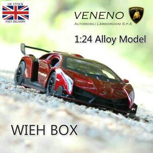 1-24-Lamborghini-Poison-Veneno-Alloy-Model-Car-Collectible-Toy-UK-Stock