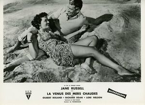 SEXY-JANE-RUSSELL-UNDERWATER-1955-VINTAGE-PHOTO-ORIGINAL-FRENCH-LOBBY-CARD-2