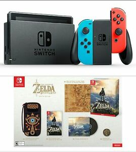 Nintendo Switch Neon + Zelda: Breath of the Wild - Special ...