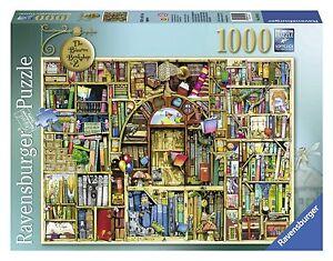 Ravensburger Bizarre Bookshop 2 Jigsaw Puzzle (1000-Piece) , New, Free Shipping