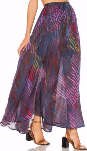 Sheer alta scuro vita strisce a People Skirt You Free a To Ob568231 blu Maxi True SnC1xp