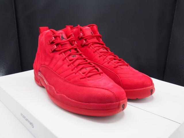 Air Jordan 12 Retro Bulls Mens 130690 601 Gym Red Basketball Shoes