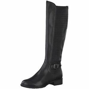 Details zu Tamaris Damen Stiefel Schaftweite XS Stret 1 1 25511 23001 schwarz 718309