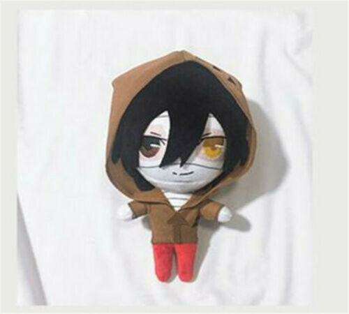Angels of Death Rachel Isaac Zack Ray Cosplay Soft Plush Mini Toy Doll 23cm