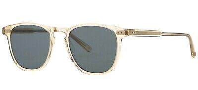 CH//BS Garrett Leight KINNEY CHAMPAGNE Champagne//Blue Polarized Sunglasses