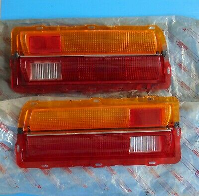 STOP /& TAIL LAMP LENS LENSES FOR 1966 CHEVROLET STATION WAGON OUTBOARD LH RH
