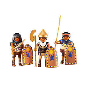 Playmobil-3-Egyptian-Warriors-Building-Set-6488-NEW-Learning-Toys