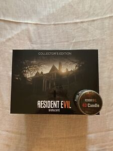 Resident-evil-7-PS4-european-Version-Collectors-Edition-4D-Candle-Biohazard