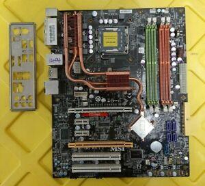 MSI-P35-NEO2-LGA775-DDR2-Intel-P35-Express-2x-PCIE-x16-IO-Shield