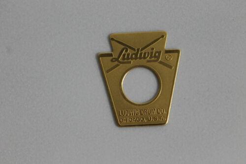 Ludwig small Keystone 60/'s Repro Drum Badge