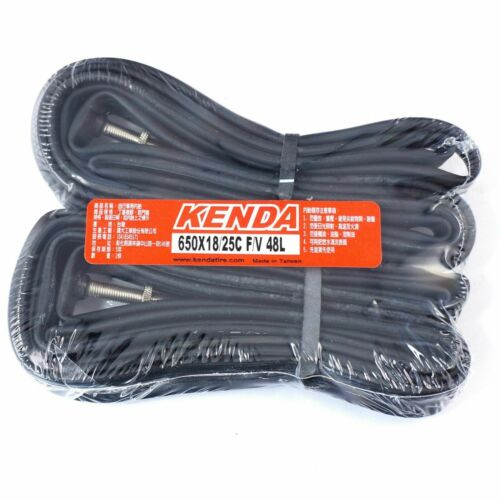 x2pcs KENDA 650x18//25C 48L 27.5 Presta//French For Road Bike Inner Tubes z