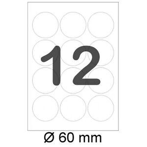 1200-runde-Etiketten-60mm-RUND-6cm-Sticker-A4-Haftetiketten-Aufkleber-L3416
