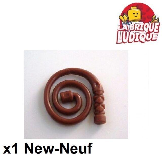 LEGO fouet marron 88704-weapon whip Bent reddish brown-Neuf//New