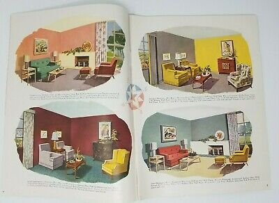 1951 Pittsburgh Paints Mid Century Decorating Ideas Advertising