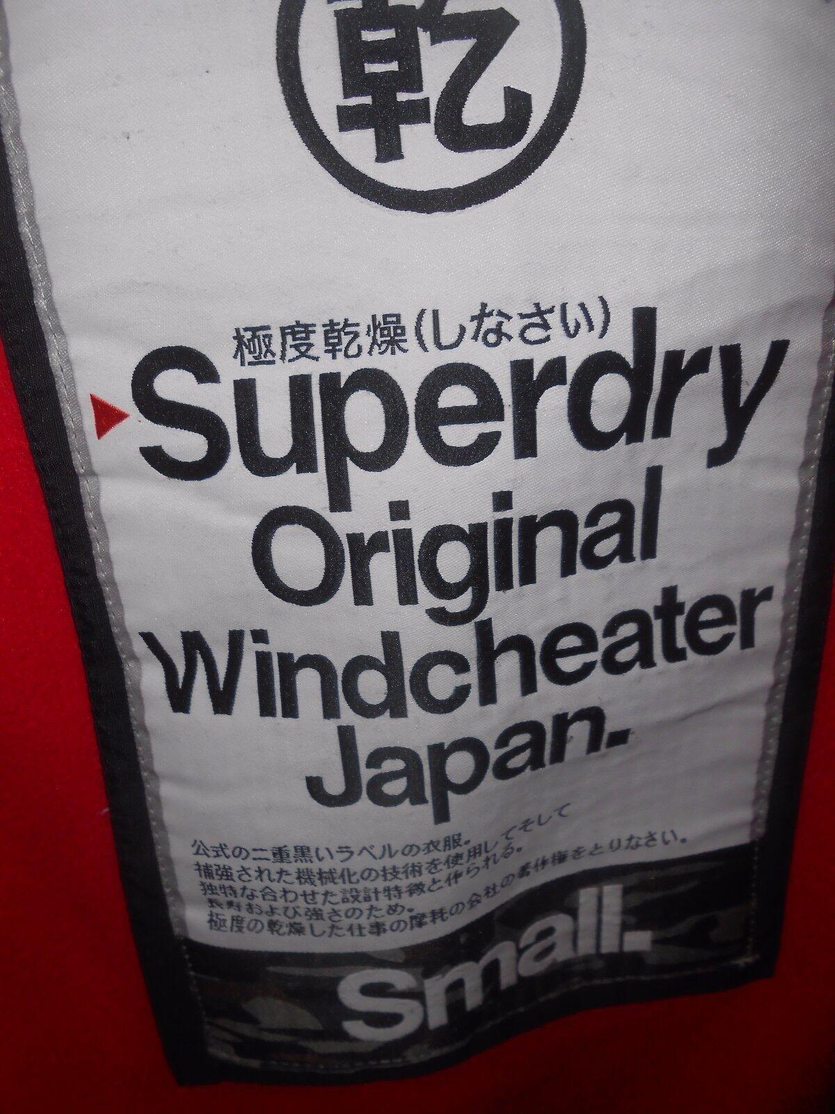MENS SUPERDRY ORIGINAL ORIGINAL ORIGINAL WINDCHEATER COAT Größe SMALL | Realistisch  ea02a7