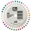 Prym-Pearl-Head-Pins-Assorted-Colours-40-pieces-Wheel-Rosette-0-58x40mm-028602 thumbnail 1