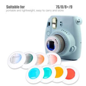 For-Fujifilm-Instax-Mini-7s-8-8-9-Film-Camera-4-Filters-Close-Up-Pure-Gradient