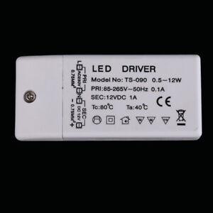12V DC LED Netzteil LED Dricer 12W Led  Strip Lights TS-90 ASS