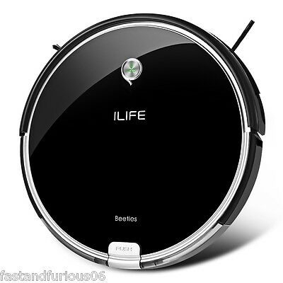 ILIFE A6 Smart Mute Sweeping Robot Automatic Vacuum Cleaner Dust Cleaning EU NEW