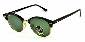 6fe43f48ea Ray Ban Ray-Ban Clubround Black Arista Sunglasses Item No. RB4246 901 51-19