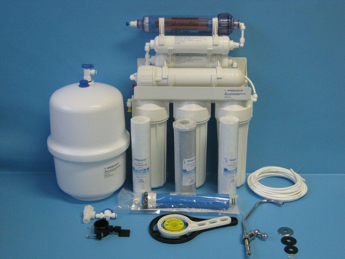 7 Niveaux Négatif Ions Vitalisant Filtres A Eau D'Osmose Inverser Osmoseur