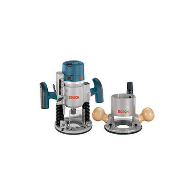 Bosch 12 Amp 2.25 HP Combo Plunge & Fixed-Base Router 1617EVSPK-RT Reconditioned