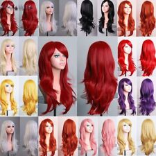 Hair Wigs for Ladies Synthetic Long & Straight Black Brown Blonde Red Auburn Ash