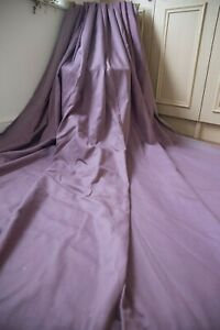 NEXT-PURPLE-COTTON-THERMAL-BLACKOUT-LINED-EYELET-PAIR-CURTAINS-53WX87D-HEAVY